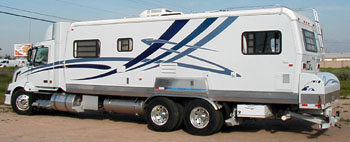 RV Stripes Graphics Project Of The Month For April - Custom rv vinyl decals