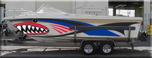RV Stripes & Graphics - Boats